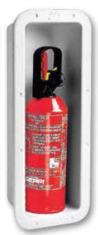 Deck Fire extinguisher box